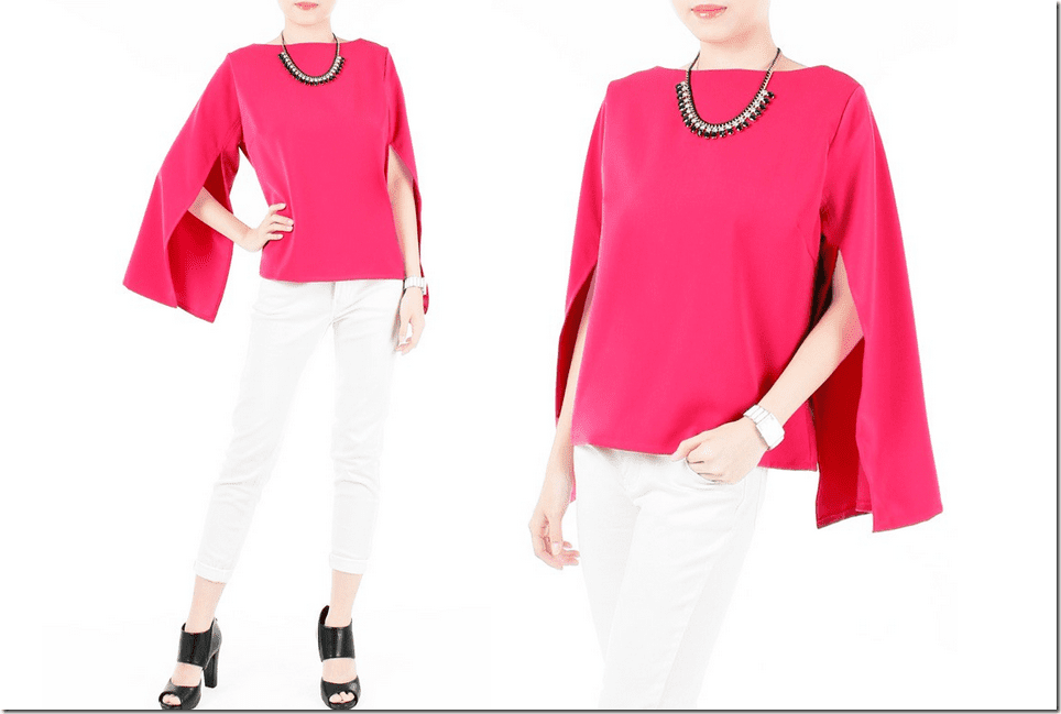 hot-pink-cape-blouse