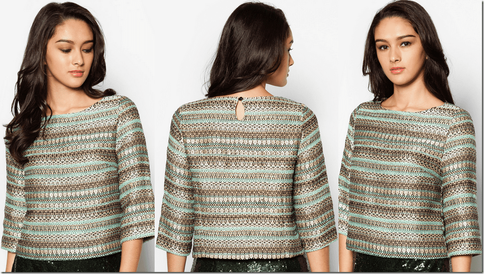 mint-gold-jacquard-crop-top