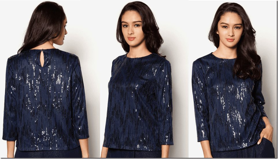 navy-blue-sequined-blouse
