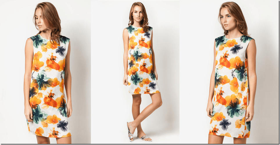 off-white-floral-shift-dress