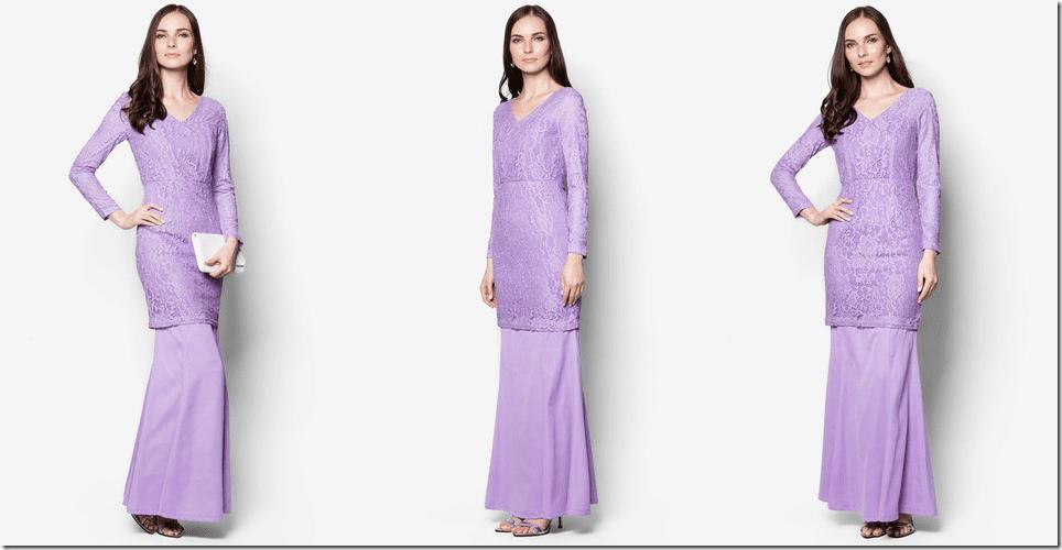 purple-v-neck-lace-kurung
