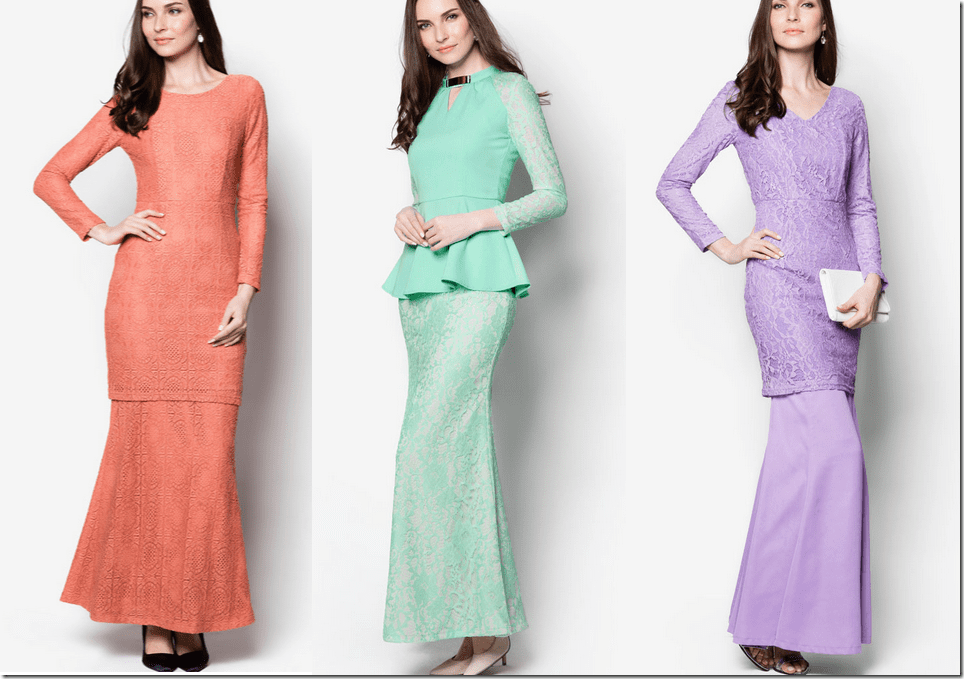Last Minute Demure Lace Raya 2015 Outfit Ideas