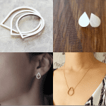 Fashionista NOW: The Blank Space & Teardrop Inspired Minimalist Jewelry Inspiration