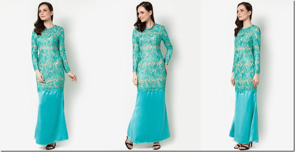 turquoise-lace-kurung