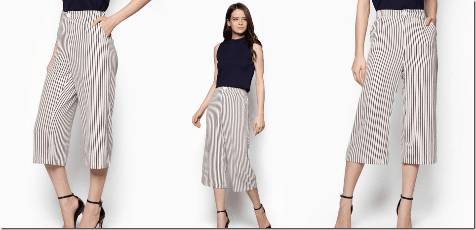 white-striped-printed-culottes