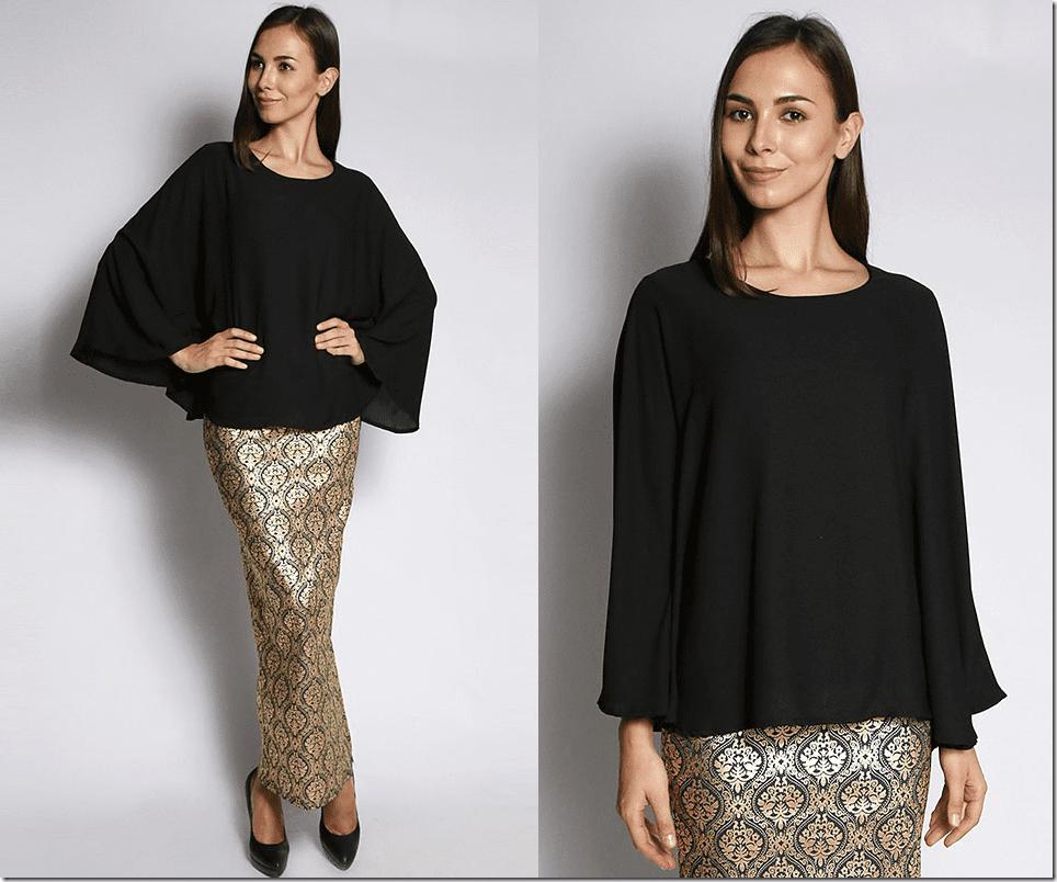 black-flowy-kaftan-blouse