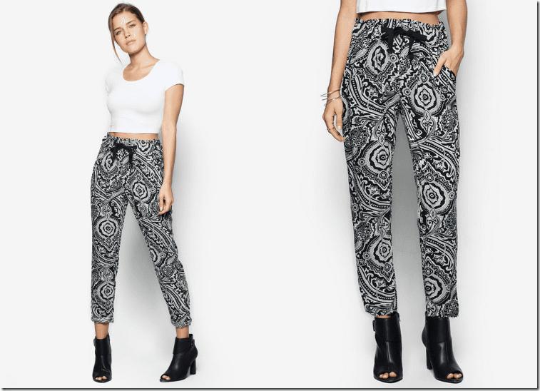black-white-floral-harem-pants