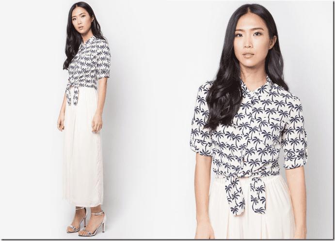 blue-palm-print-tie-waist-crop-shirt