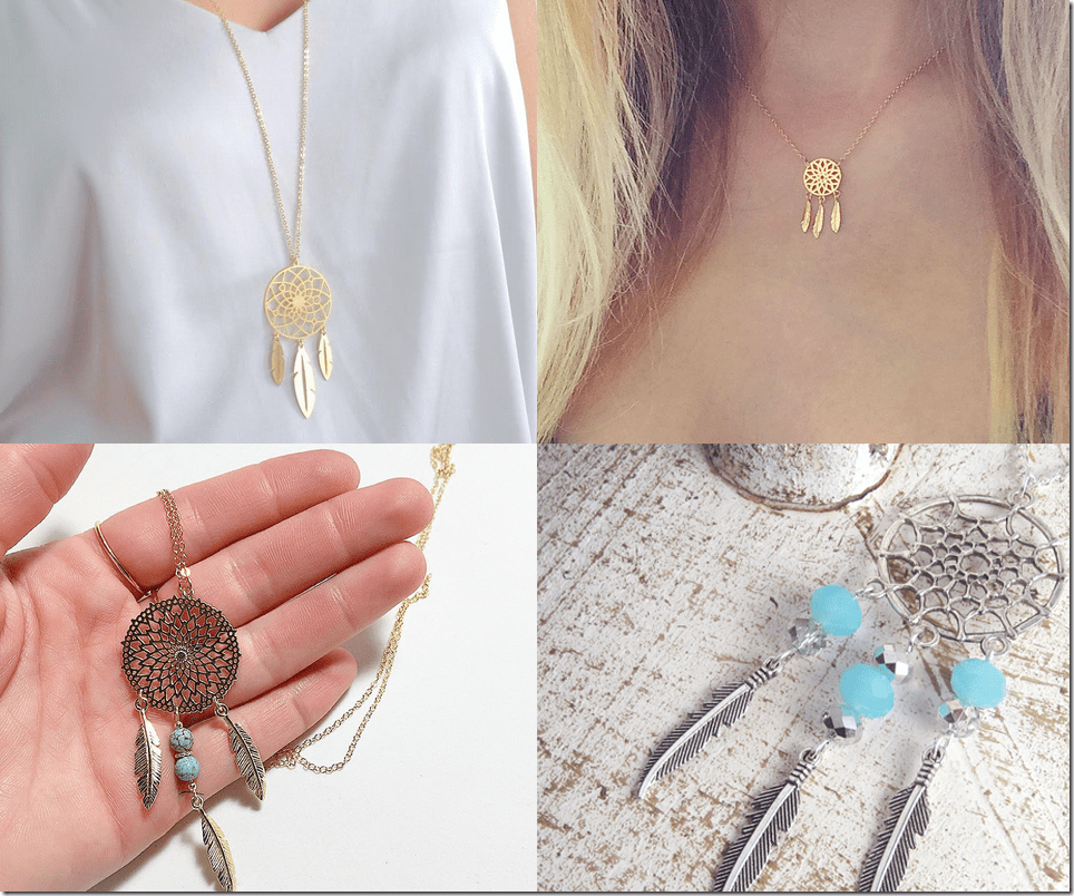 Dreamcatcher Necklaces Jewelry Inspiration