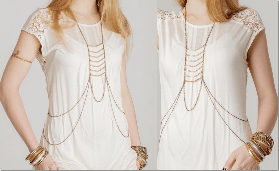 Fashionista NOW: 7 Body Chain Jewelry Styles Anyone Can Wear
