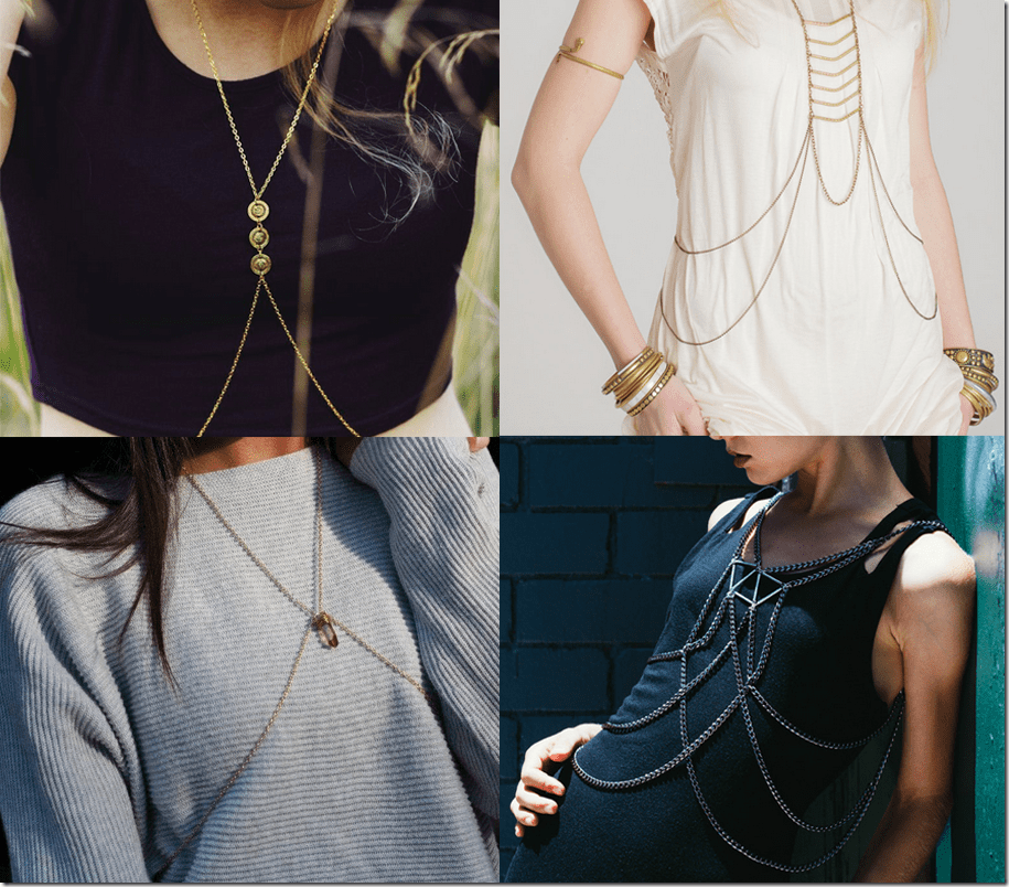 7 Body Chain Jewelry Styles Anyone Can Wear