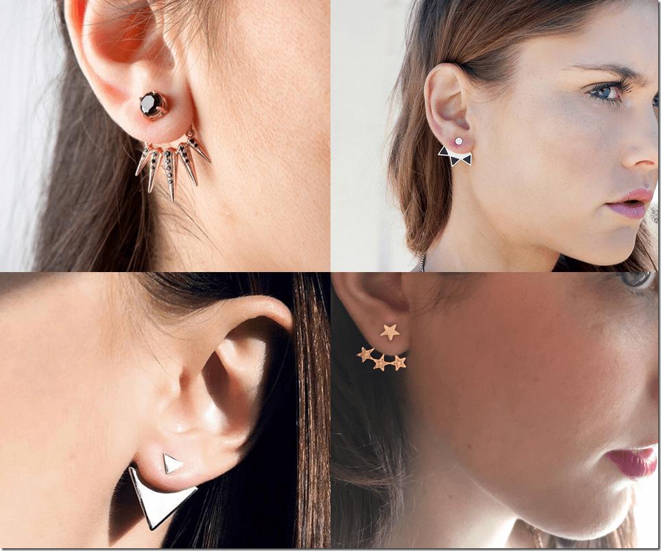 Ear Jacket Earrings