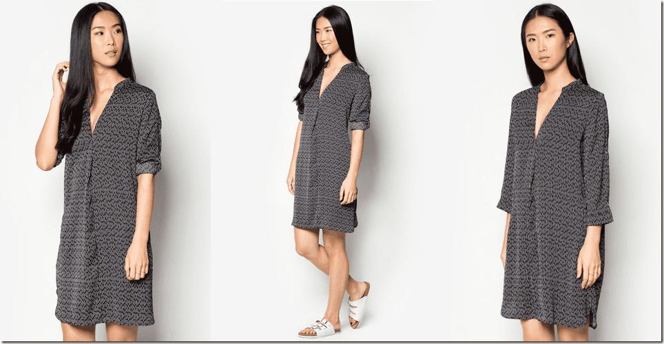 flowy-patterned-shirt-dress