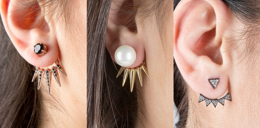 Win a pair of ear jacket earrings of your choice.