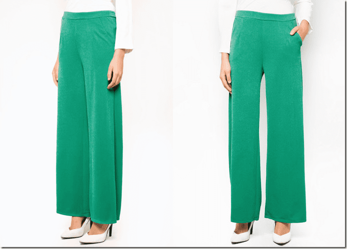 green-stretchable-palazzo-pockets