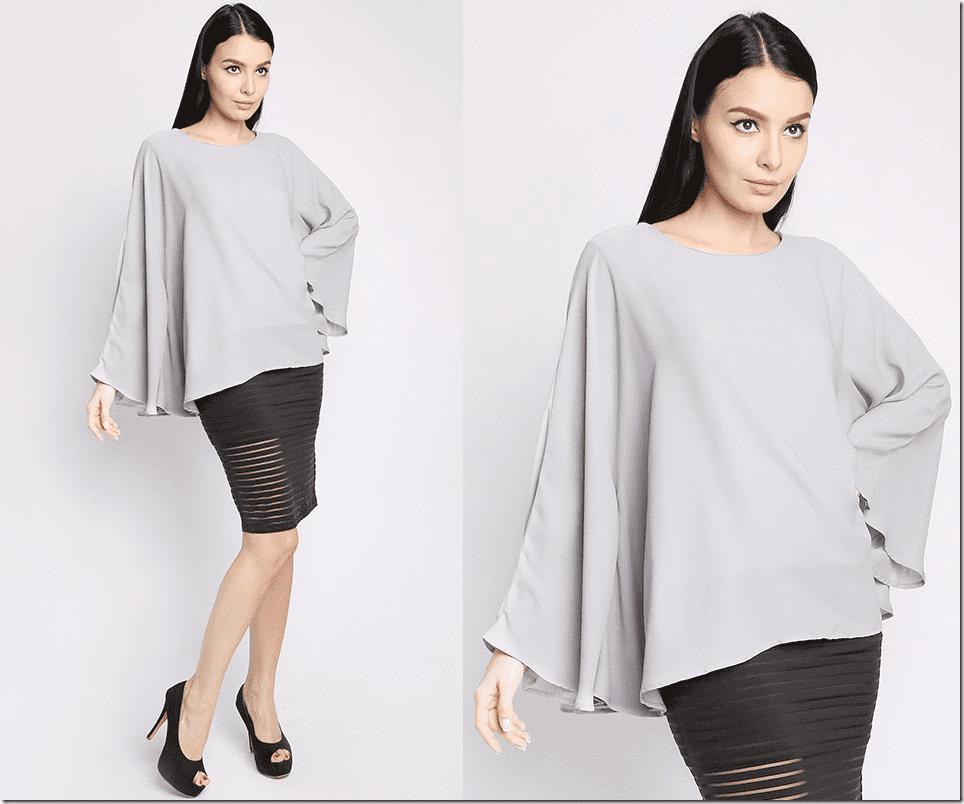 grey-flowy-kaftan-blouse