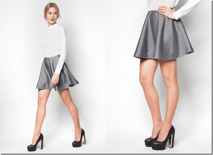 grey-geometric-skater-skirt