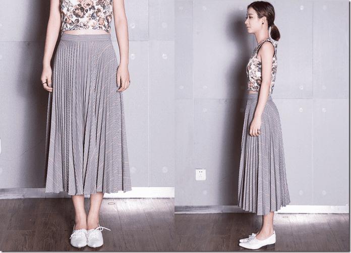 grey-houndstooth-pleated-midi-skirt