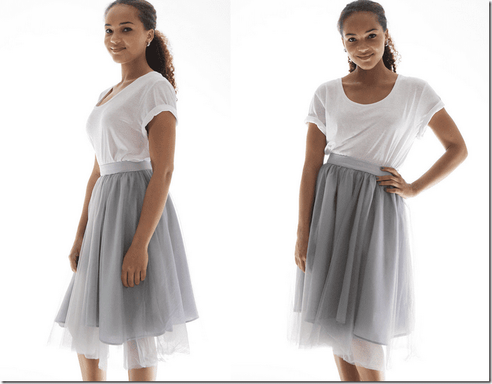 grey-layered-tulle-skirt