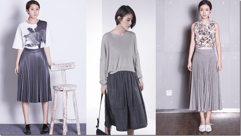 7 Grey Skirt Styles For The Quietly Chic