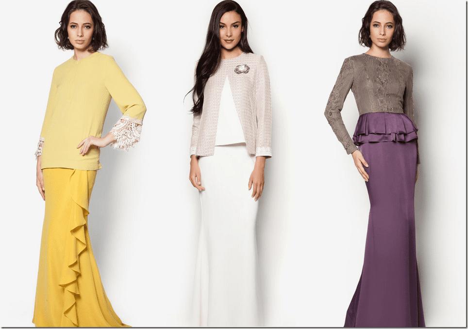 Design Baju Raya Artis : Jovian baju kurung design jovanita by