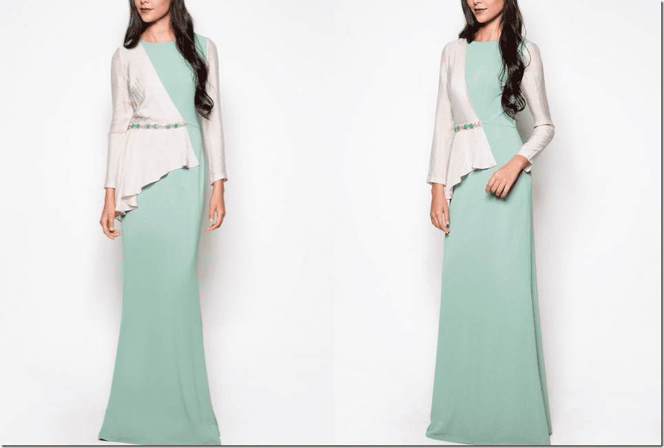 mint-green-long-dress-asymmetric-bodice