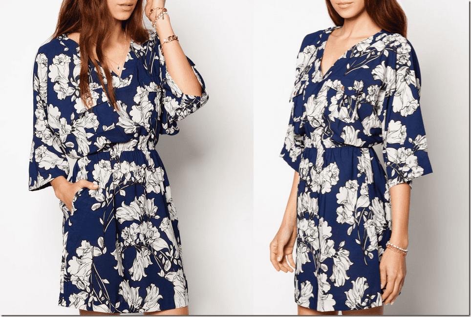 navy-floral-print-kimono-dress