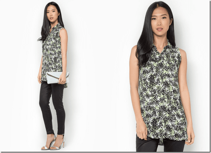 sleeveless-collared-palm-print-shirt