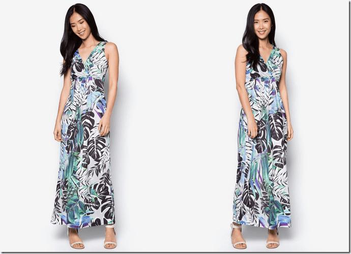 sleeveless-palm-print-maxi-dress
