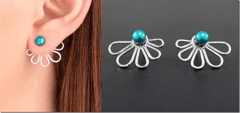 tuquoise-pearl-ear-jacket-earrings