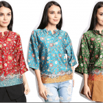 Fashionista NOW: Batik Goes Chic With Malaysian Batik Kimono Style Tops