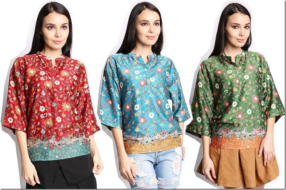Fashionista NOW: Batik Goes Chic With Malaysian Batik Kimono Style Tops