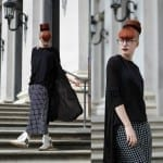 Fashionista NOW: How To Style Your Black And White Grid Print Pants?