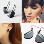 Fashionista NOW: Black Earrings Jewelry Inspiration