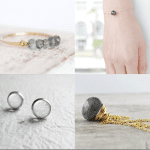 Fashionista NOW: The Allure Of Grey Minimalism Jewelry Inspiration