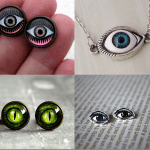 Fashionista NOW: Got My Eyes On Eyeballs Halloween Jewelry Inspiration