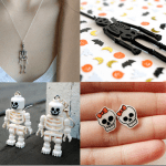 Fashionista NOW: Skeletons and Skulls Halloween Jewelry Inspiration