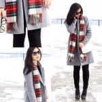 Fashionista NOW: The Power Of A Plaid Scarf Is Too Real Right Now
