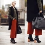 Fashionista NOW: 7 Ways To Wear Culottes In Cold Weather