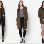 Fashionista NOW: Nail The Monsoon Chic Look With Muddy Green Outerwear Trend