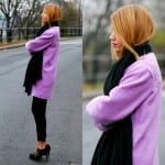 Fashionista NOW: Why Not Don A Purple Coat?