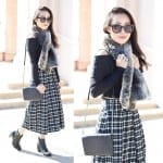 Fashionista NOW: How To Wear Monochrome Black And White Plaid?