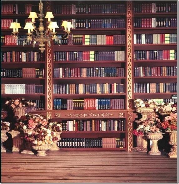 Mirage Bookshelf Backdrop Malaysia 2015
