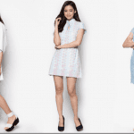 Fashionista NOW: Chinese Lunar New Year 2016 Party Dress Ideas In White And Pastel Blue