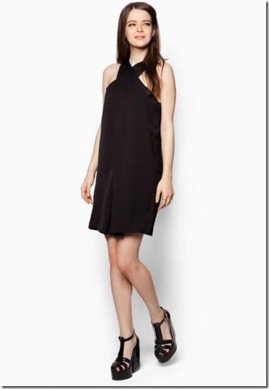 cross-neck-dress-black
