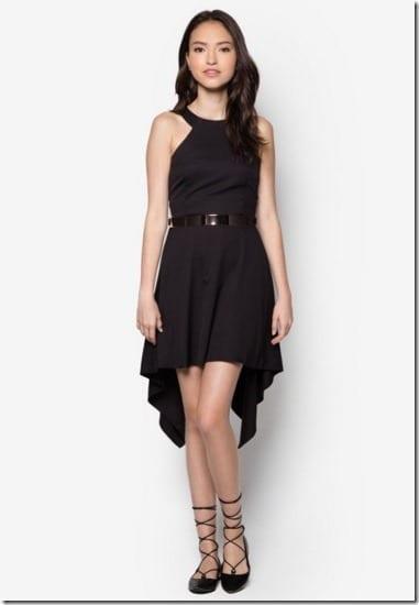 cut-in-halter-neck-dress-black