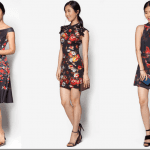 Fashionista NOW: Broody Oriental Floral Motif Dress Ideas For Lunar New Year 2016