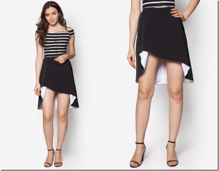 flare-asymmetric-skirt