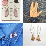 Fashionista NOW: Hand-Shaped Jewelry Ideas That Are Not The Hamsa
