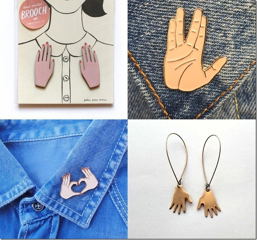 Hand-Shaped Jewelry Ideas That Are Not The Hamsa